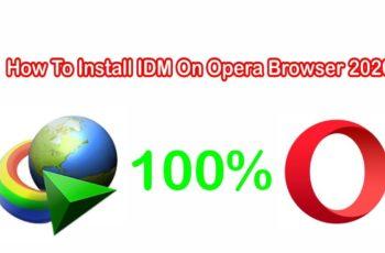 add idm extension to opera